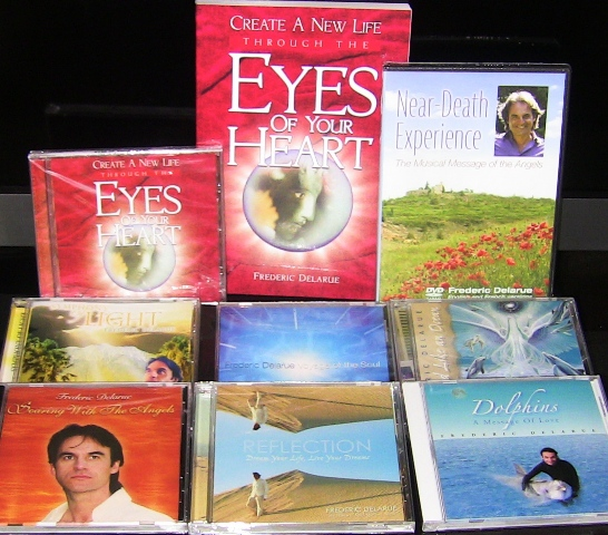 7 CDs Relaxation Music + NDE Book + DVD