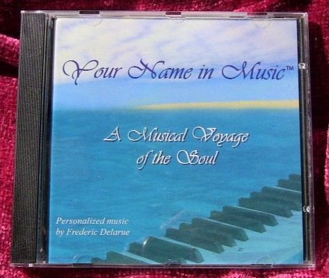 The Music of Your Soul, Personalized CD for an individual or a couple