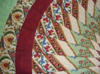 Handmade Quilt: Virgin Mary and Mandala - Frederic Delarue : mandala quilts - Adamdwight.com